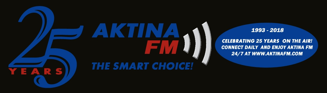 AKTINA FM Celebrates 25th Anniversary! The Alternative Voice And Smart Choice!